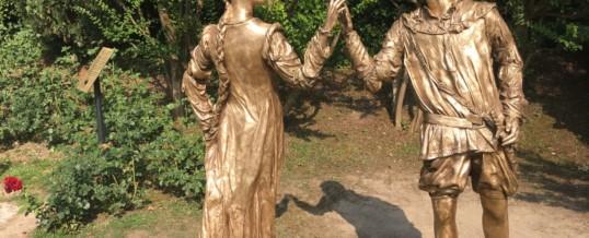 Statua di Giulietta & Romeo al Parco Sigurtà