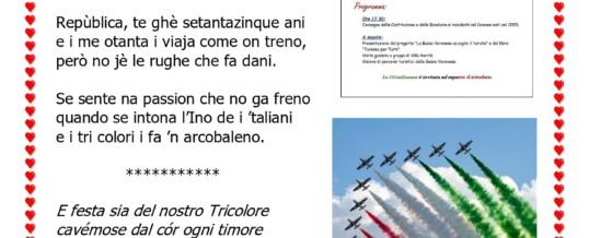 """""""75 anni della Repubblica Italiana"""" di Lucia Beltrame Menini"""