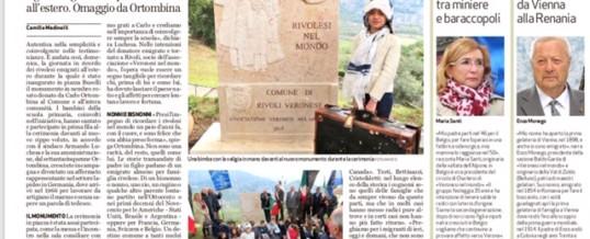 Da Rivoli nel mondo, omaggio agli emigrati