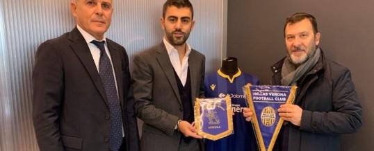 """""""Veronesi nel Mondo"""" in visita all'Hellas Verona"""