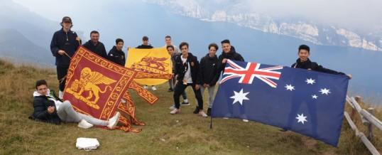 Calciatori del FC BULLEN LIONS ospiti della Funivia del Monte Baldo