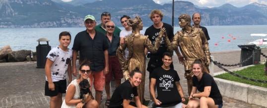 Statua di Giulietta & Romeo a Castelletto di Brenzone